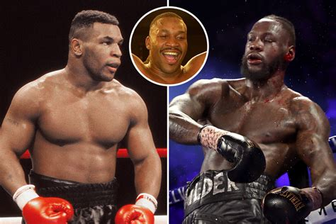 Mike Tyson would KO Deontay Wilder easily if the pair met ...