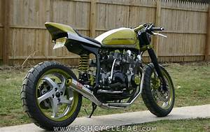 Racing Caf U00e8  Suzuki Gs  U0026quot Streetracer U0026quot  By Foh Cycle Fabrication