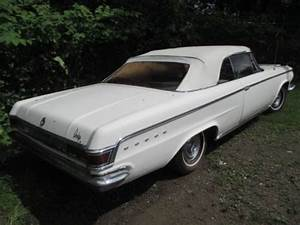 Sell Used 1964 Dodge 880 Custom Convertible Mopar Project Car Runs In Meadville  Pennsylvania