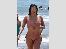 Eva Longoria In a bikini at a beach in Marbella Celebzz