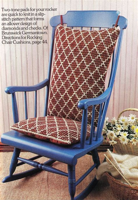 rocking chair pattern cushion image mag