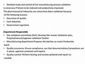 Bioprocess Validation