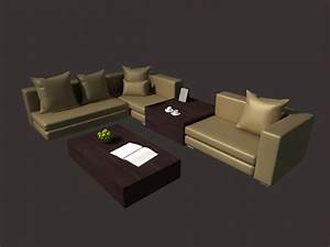 drawing room sofa set 3d model 3dsmax files free download With living room furniture 3d model free download
