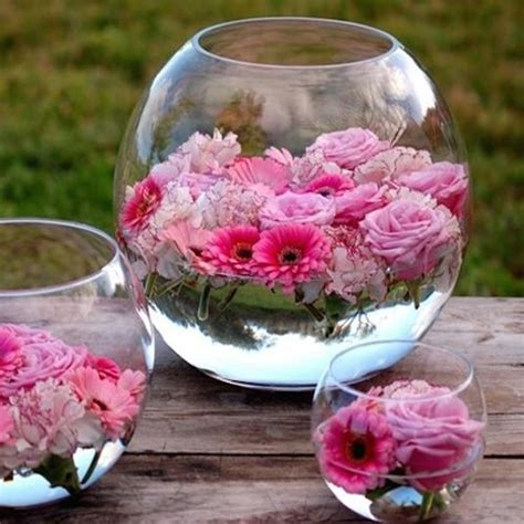 dining room table centerpiece ideas diy floating flowers jodeze home and garden