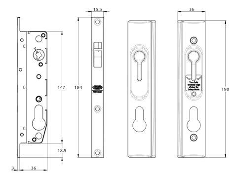 lockwood  sliding security screen door locks