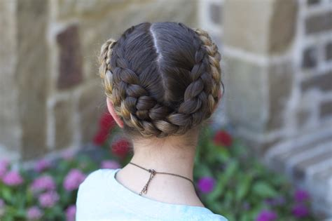 easy fold  braids   school hairstyles cute