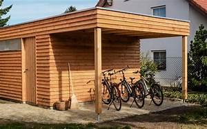 Geräteschuppen Mit Anbau : fahrradschuppen unterstand gartenhaus ~ Michelbontemps.com Haus und Dekorationen