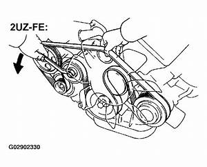 2003 Toyota Tundra Serpentine Belt Routing And Timing Belt