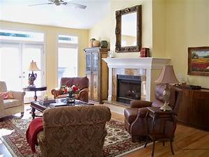 The Comforts of Home: French Country Living Room Before ...