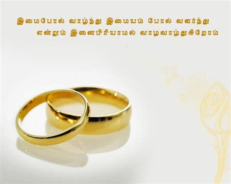 Wedding Day Wishes In Tamil Bible Words