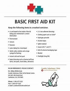 Acadia Veterinary Clinic — Ever wondered what a first aid ...