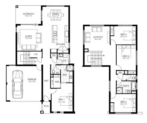 house with 4 bedrooms apartments 2 4 bedroom house floor plans 2 4