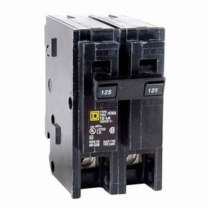 Square D Homeline 125 Amp 2