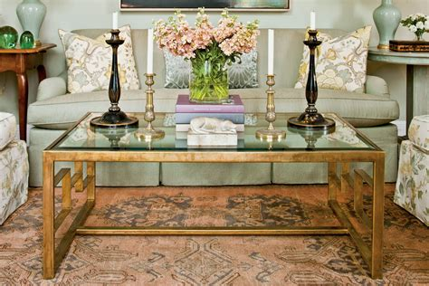 Trying to balance form and function on a small surface can be a chore sometimes. Find Your Coffee Table Style - Southern Living