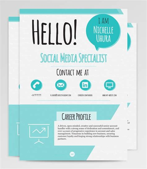 95 best resumes images on resume templates