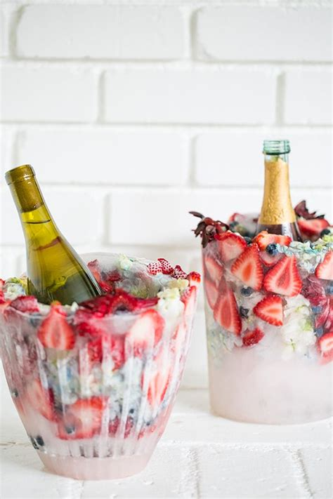 ideas  ice buckets  pinterest champagne