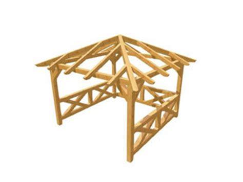 Dach Für Holzpavillon by Pavillon Selber Bauen Holz Bauplan De