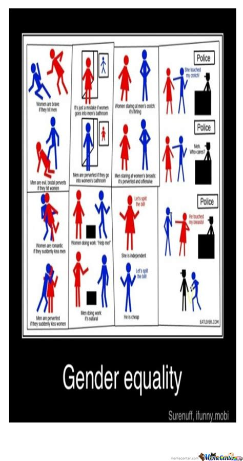 Equality Meme - gender equality by taajcrump meme center