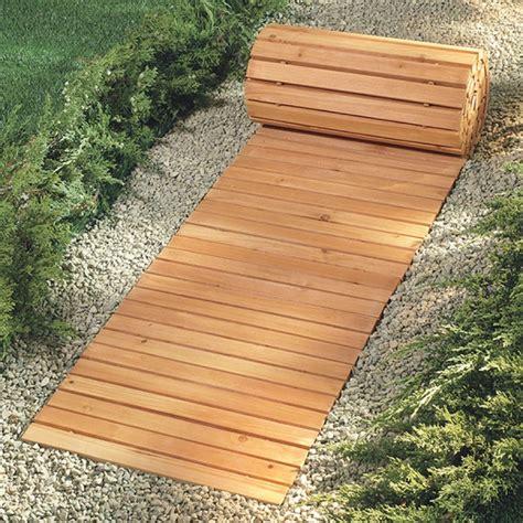 outdoor walkway ideas walkways for wet yards eight foot wooden yard pathway wooden walkway covers snowy or muddy