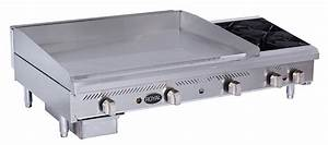 Manual Griddle    Hot Plate Combination