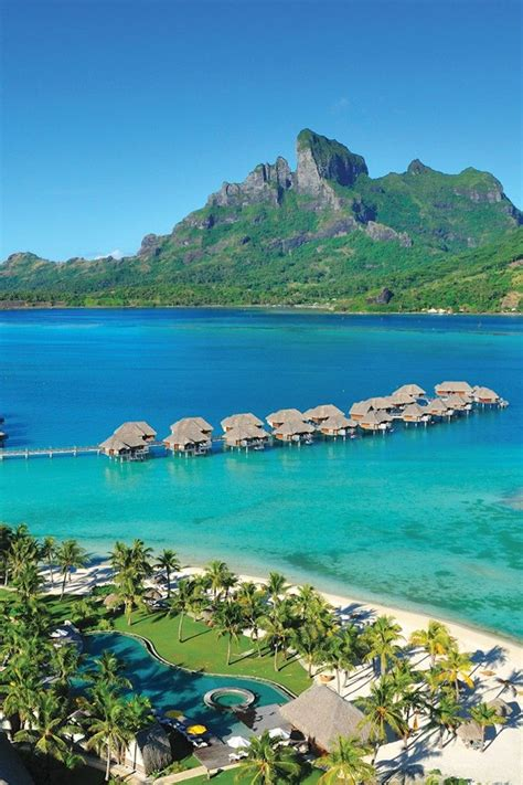 Best 25 Bora Bora French Polynesia Ideas On Pinterest