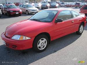 2001 Bright Red Chevrolet Cavalier Coupe #22063292 Photo ...