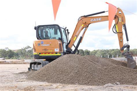 case cxc mini excavator earthmoving equipment australia