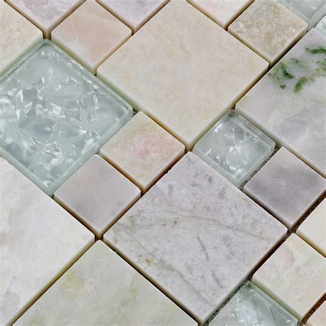 Wall Tile Sheets by Wholesale Grey With White Mosaic Tile Sheet