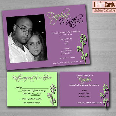 sle wedding invitations templates