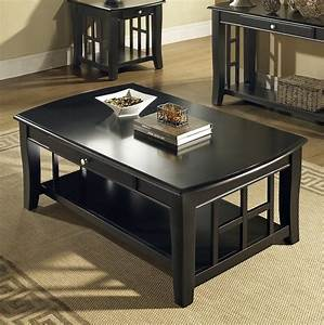 black coffee and end table sets furniture roy home design With espresso coffee table and end tables