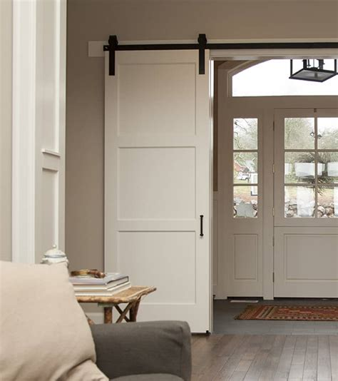 contemporary barn door ideas of how to introduce barn doors in a modern home