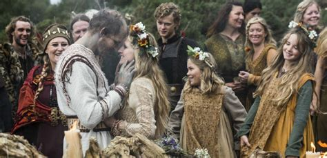 A Couple From Norway Have A Traditional Viking Wedding