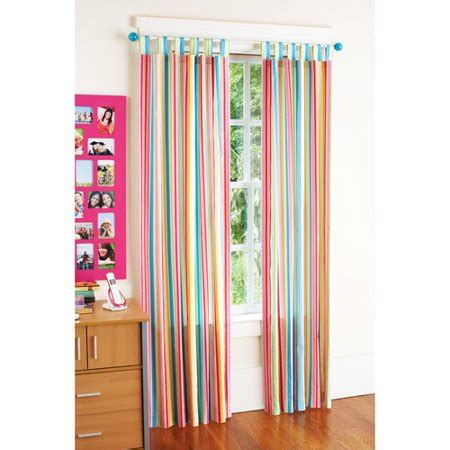 bright colored curtains your zone chino curtains set of 2 bright stripe