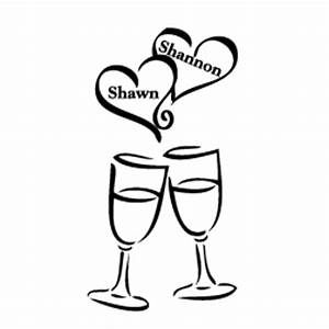 Cheers Glasses Clipart (33+)