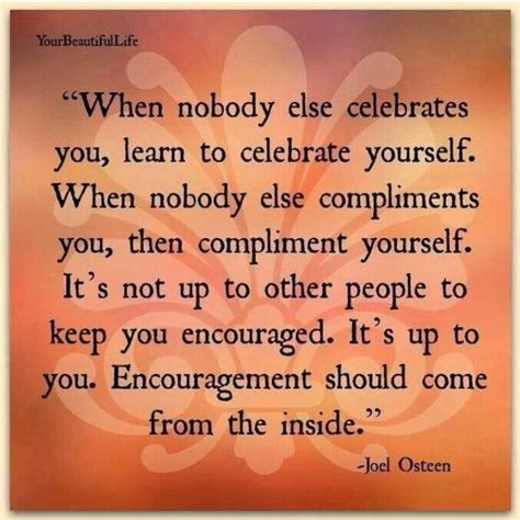 celebrating  complimenting  joel osteen