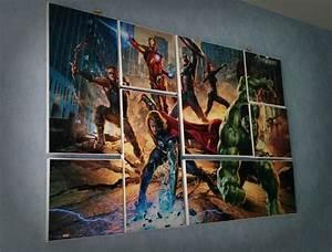 Toile Street Art : nouvelle r alisation diy une fresque en plusieurs tableaux ralfred 39 s blog deco diy ~ Teatrodelosmanantiales.com Idées de Décoration