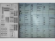 E89 Fuse Box Map Reference