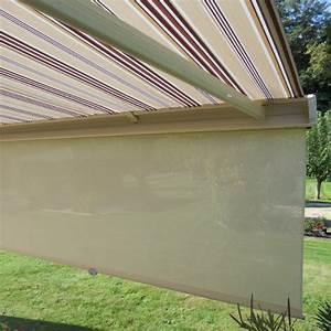 Store Banne Avec Lambrequin : soleil rasant store banne avec lambrequin enroulable ~ Edinachiropracticcenter.com Idées de Décoration