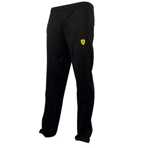 Well you're in luck, because here they come. Mens Boys Puma SF Scuderia Ferrari Black Pants Tracksuit ...