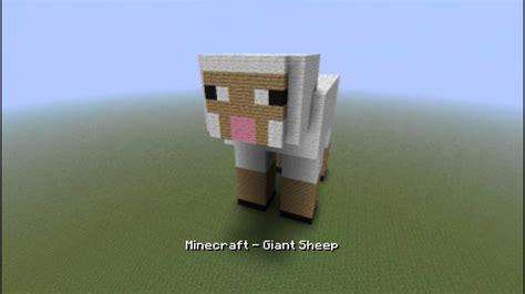 minecraft giant sheep   youtube