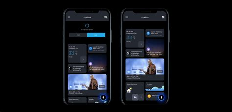 uiux interaction design amazon alexa app concept