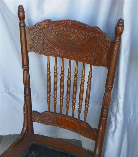 press back chairs oak bargain s antiques 187 archive antique set of four