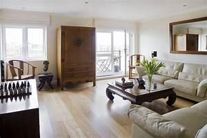Contemporary Asian Living Room - Asian - Living Room