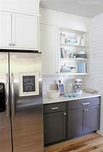 best 25 baking center ideas on pinterest appliance With kitchen cabinets lowes with small chalkboard stickers