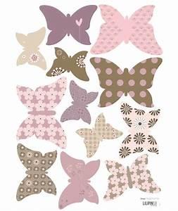 12 papillons pour creer une magnifique envolee a combiner for Stickers chambre enfant avec marque matelas fabriqué en france