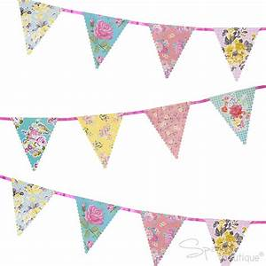 Truly Scrumptious - Floral Bunting