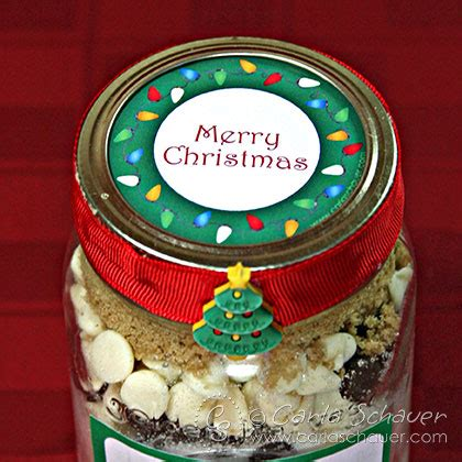 free printable christmas lights canning jar labels carla