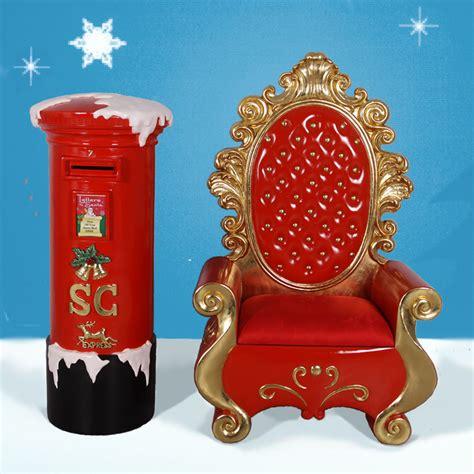 heinimex fiberglass santa throne mailbox 173 64 quot