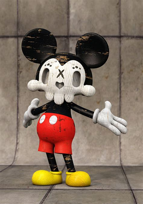 Amazing 3d Designs Of Famous Cartoon Characters Naldz