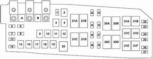 Mercury Mariner  2008 - 2011  - Fuse Box Diagram